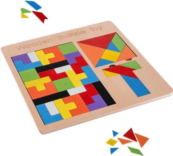 medine delione tetris tangram