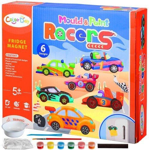 kurybinis magnetu rinkinys automobiliai