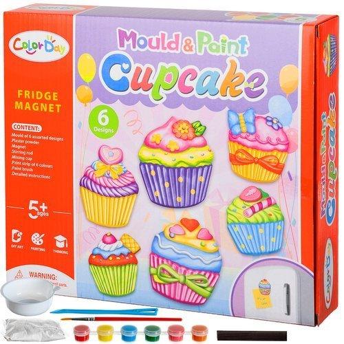 kūrybinis magnetų rinkinys pyragėliai