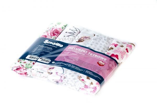 marliniai vystyklai sensillo rožiniai