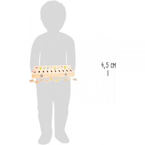 Medinis rūšiavimo žaidimas-dėlionė Small Foot