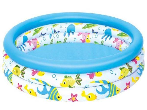 Pripučiamas vandens baseinas vaikams Bestway 102x25