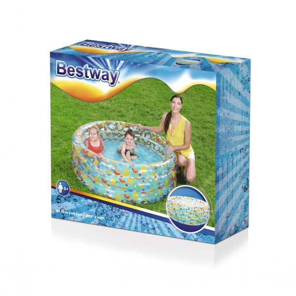 Pripučiamas vandens baseinas vaikams Bestway 150x53 cm