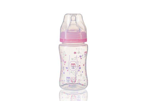 BabyOno Anti-Colic buteliukas plačiu kakleliu, 240ml, 0m+