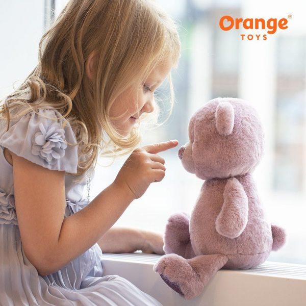 Orange Toys pliušinis meškiukas